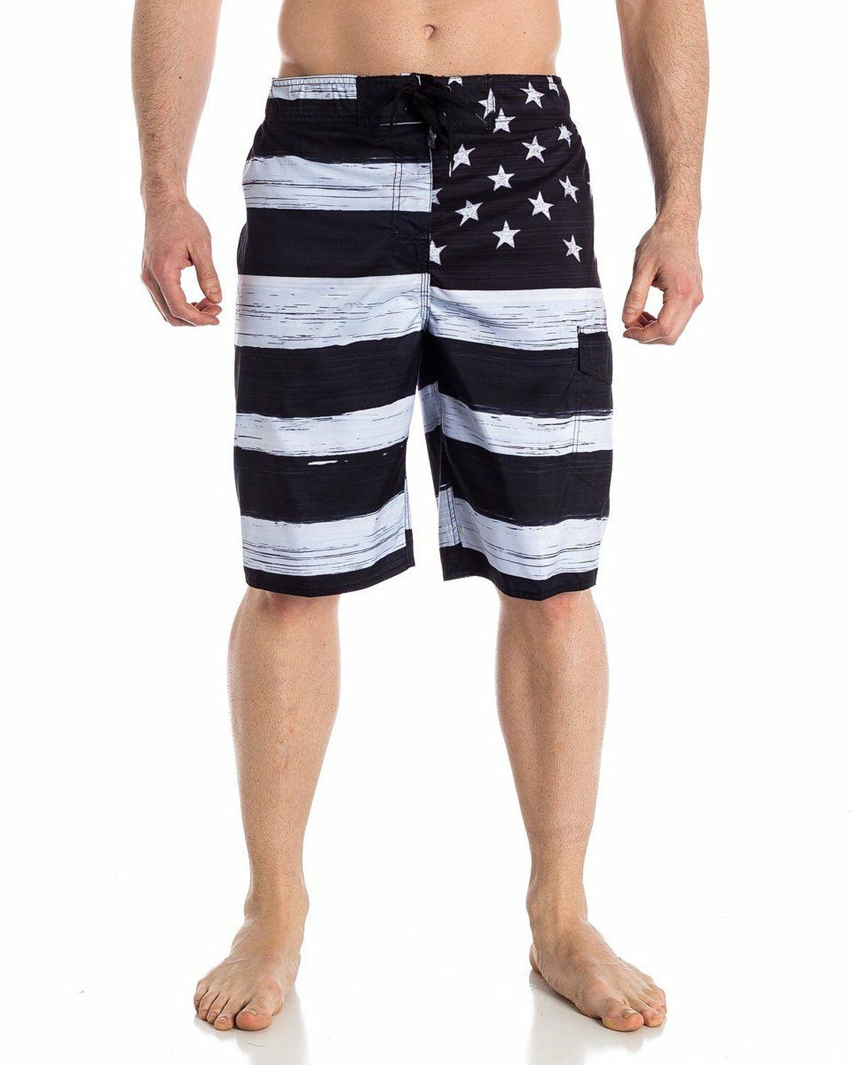 MEN'S FLAG TRUNK BOARD &