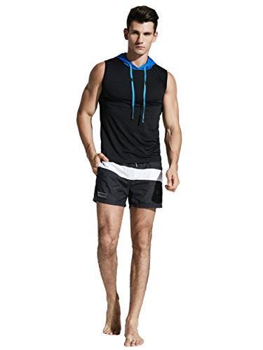 Neleus Shorts Pockets,710,Black,L,Tag