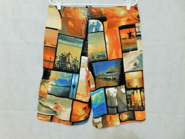 CLOTHIN Men's Beach Dry Shorts Size