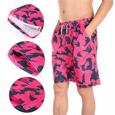 Men's Surf Board Shorts Casual Mesh Swimwear