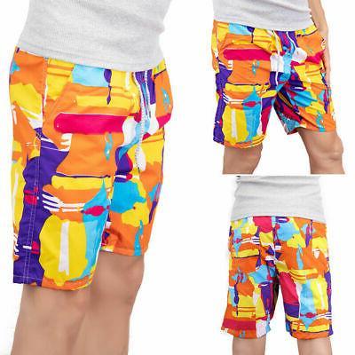 Men's Shorts Quick-Dry Swim Casual Mesh