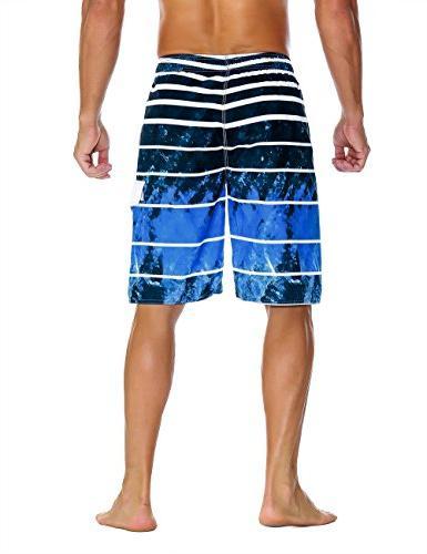 Nonwe Men's Dry Board Shorts Blue 34