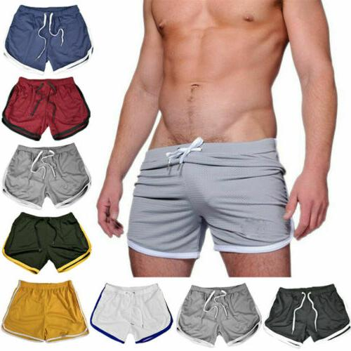 Men's Casual Short Pants Gym Fitness Jogging Sports Wear Shorts Trousers