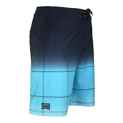 Men's Check Beach Swim Zip Swimwear