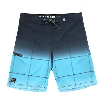 Men's Swim Trunks Swimwear Board Shorts Blue