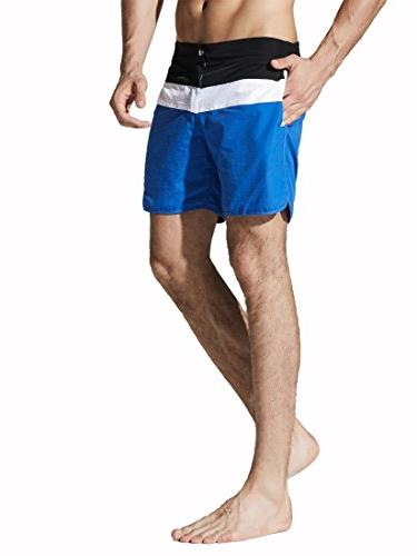 Neleus Dry Fit Swimming Trunks Long Boardshorts with