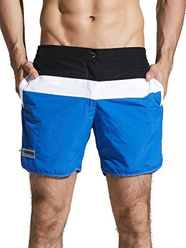 men s dry fit swimming trunks long