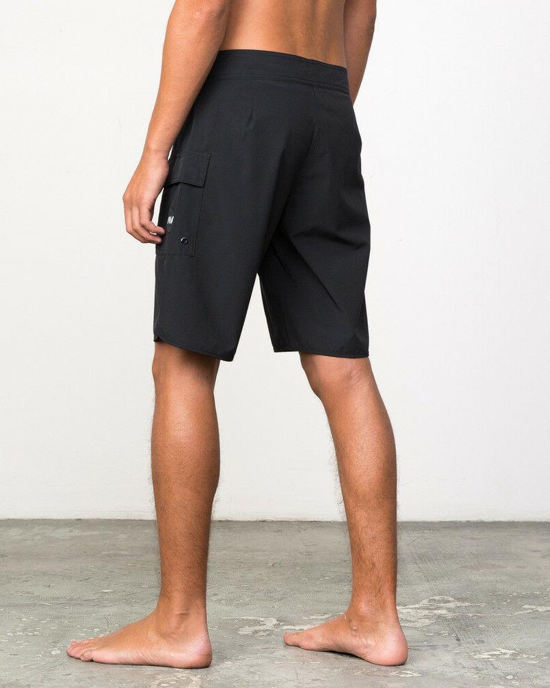 RVCA Men's Eastern Boardshorts, Teal, Size