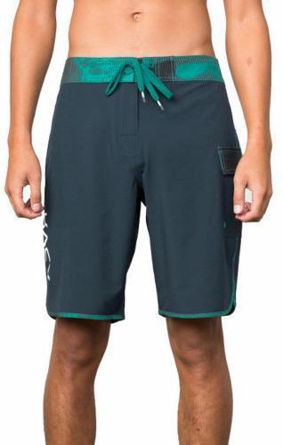 RVCA Men's Boardshorts, Black and Size 36