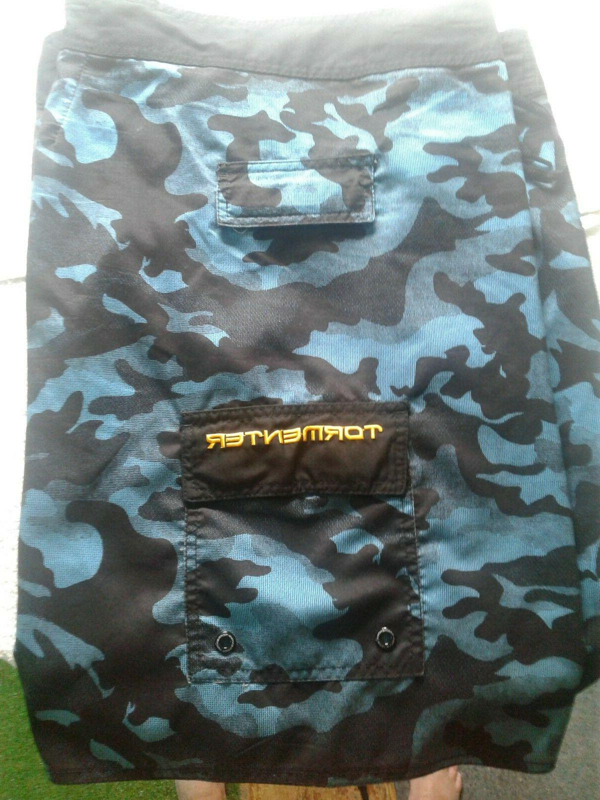 "Men's ""TORMENTOR"" Fishing Performance Board Shorts"