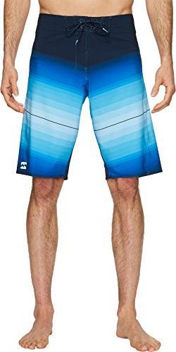 men s fluid x boardshort blue 32