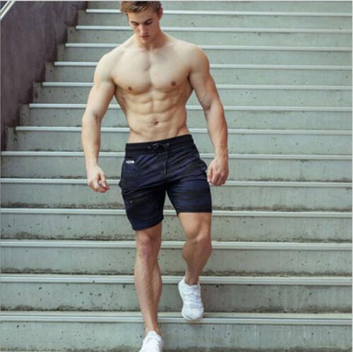 Men's Shorts Bodybuilding Running Workout Board