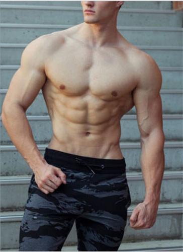 Men's Gym Shorts Running Workout Board