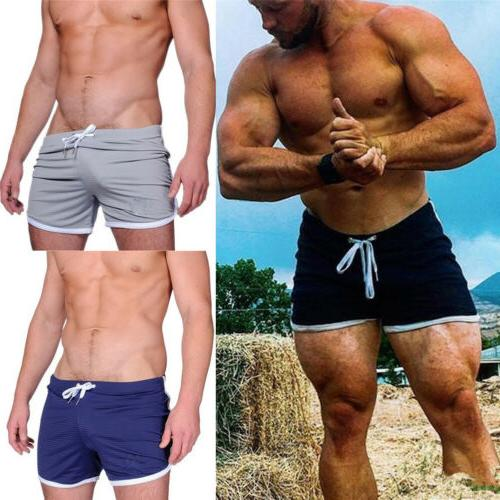 Men Summer Shorts Sports Running Swimwear Beachwear