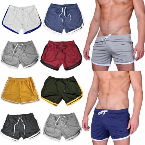 Men Comfortable Short Pants Gym Summer