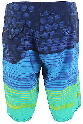 "VOLCOM Men's ""Lido Stripe"" Boardshorts COS Size 28"