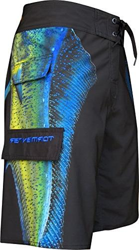 men s mahi 8 way stretch side