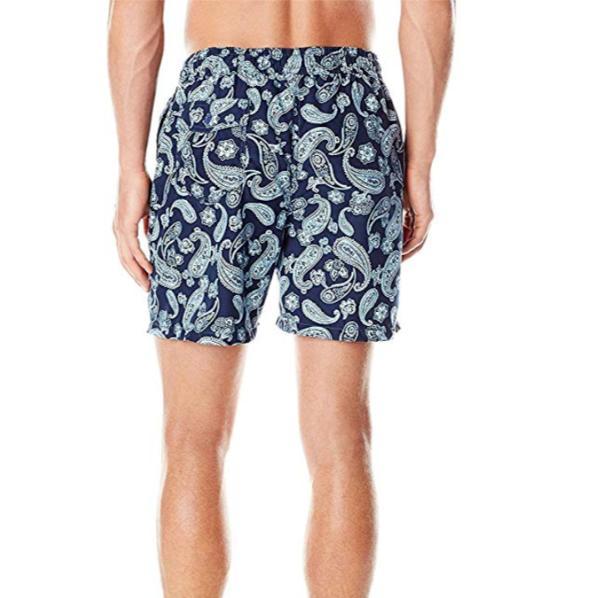 Kanu Men's Swim With Pockets Navy Large