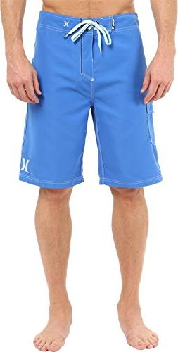 "Hurley Men's One and Only 22"" Boardshorts Fountain Blue Swim"