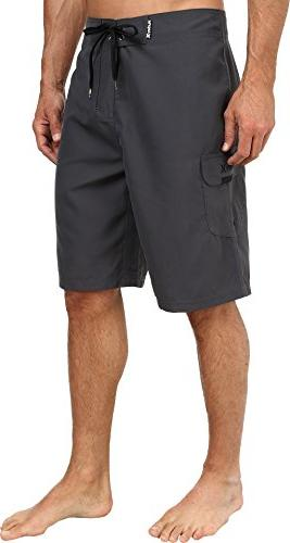 Only Boardshort, Gray, 33