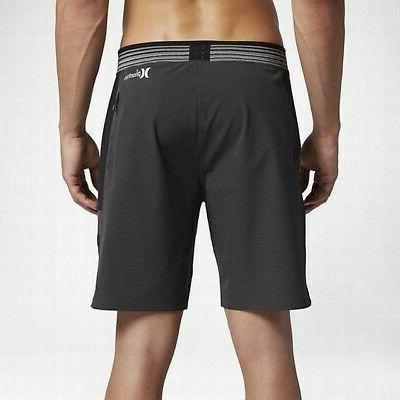 Hurley Men's Phantom Motion Elite Stripe Boardshorts