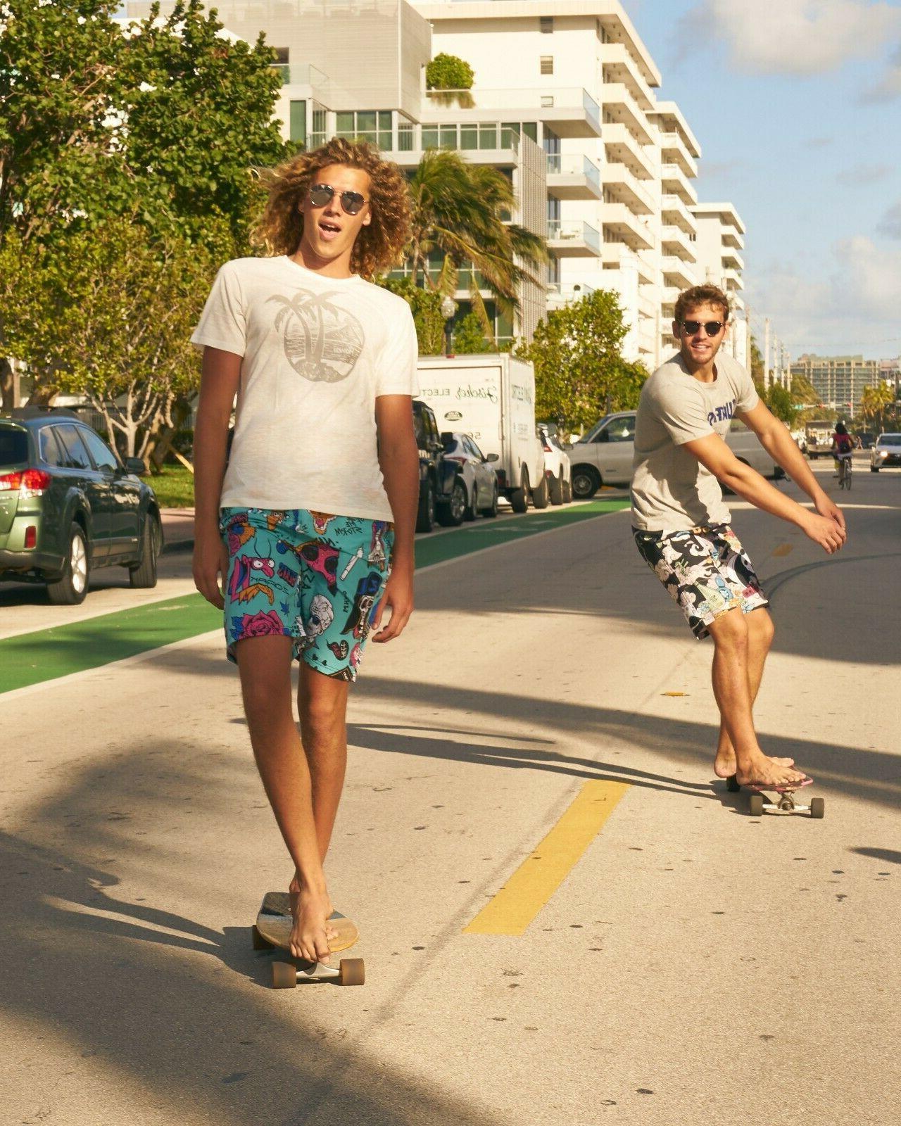 SULANG Board Shorts Swim No Mesh Lining