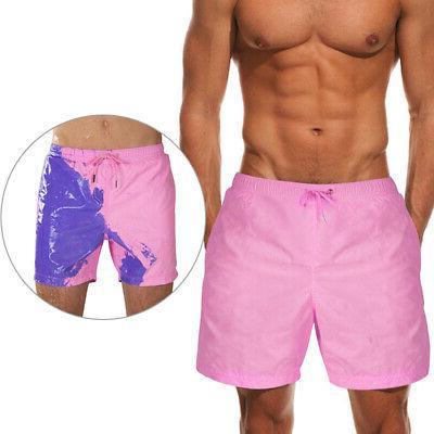 Men's Quick Dry Swimwear Shorts Swim Trunks Boardshorts Color