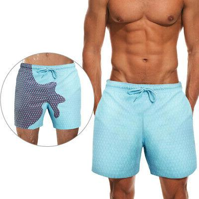 Men's Dry Pocket Swimwear Shorts Boardshorts Changing