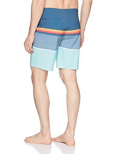 Rip Curl Men's Layday Side Pocket Boardshorts, Blue 17,