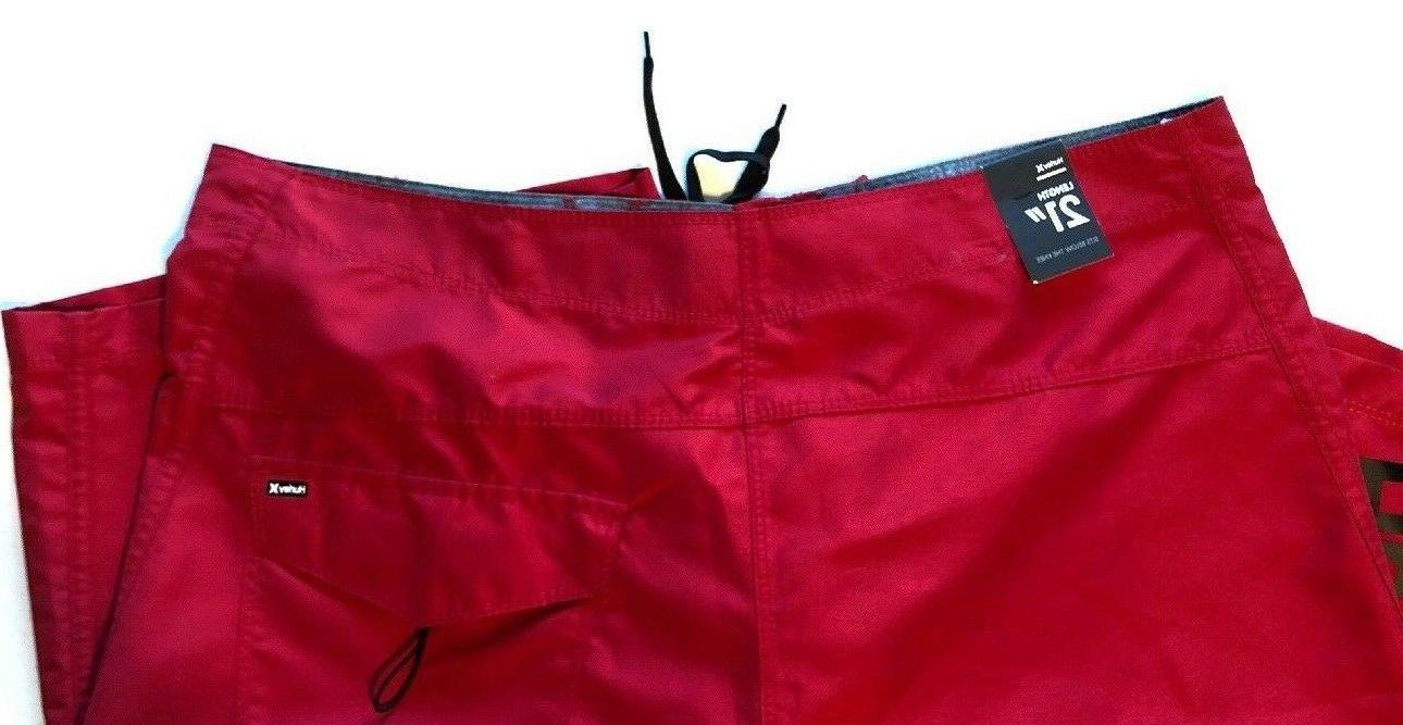 Hurley One and Shorts 2.0 Red 6DL