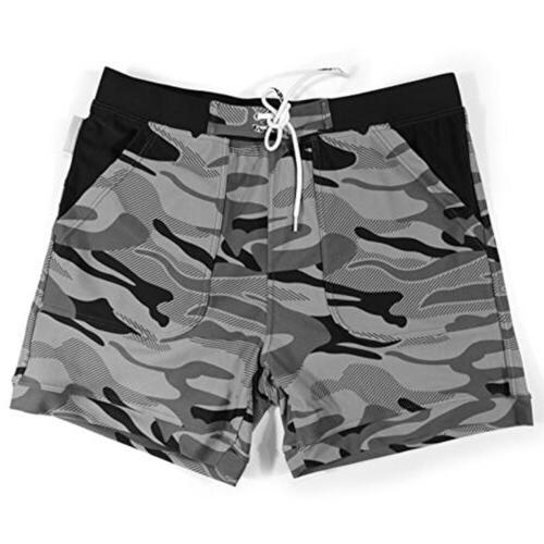 Men Swimming Trunks Boxer US