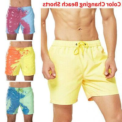 Swim Trunks Color-changing Shorts
