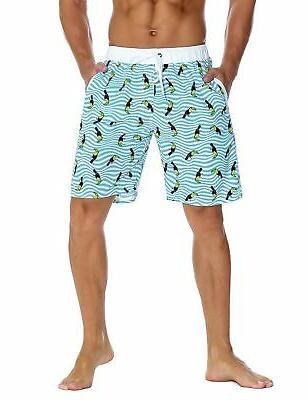 men s swim trunks classical volley board