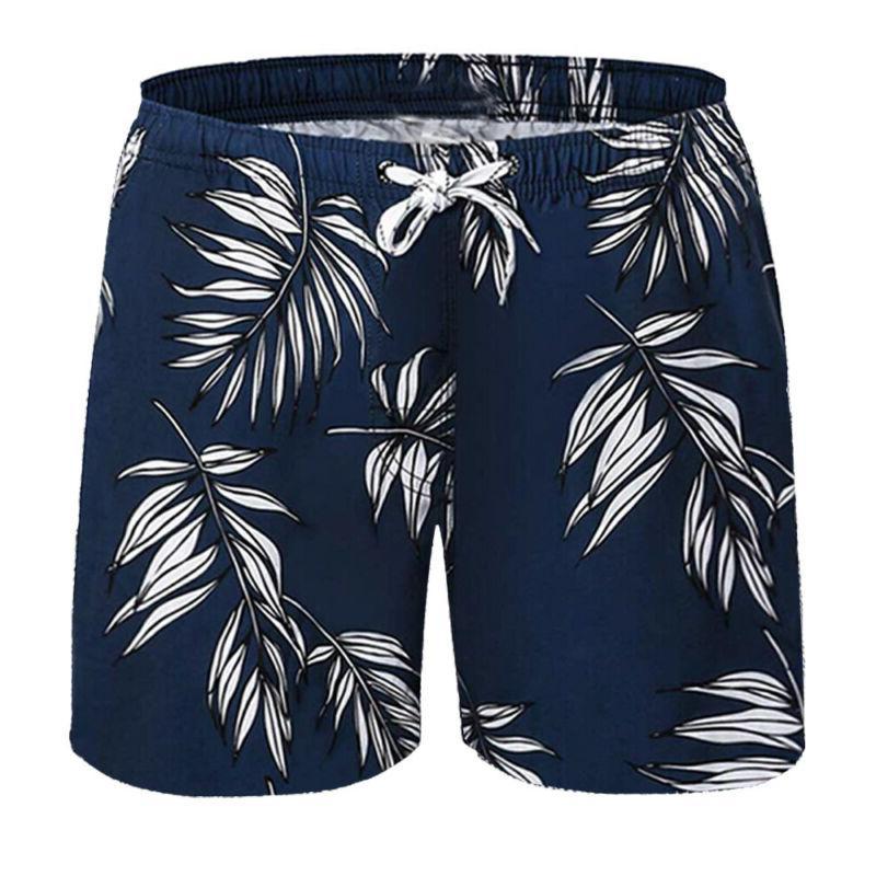 Men's Board Shorts Quick Swim Running Shorts Trunk Beach A