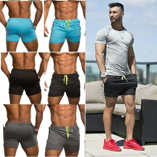 men s swimwear sports gym run shorts