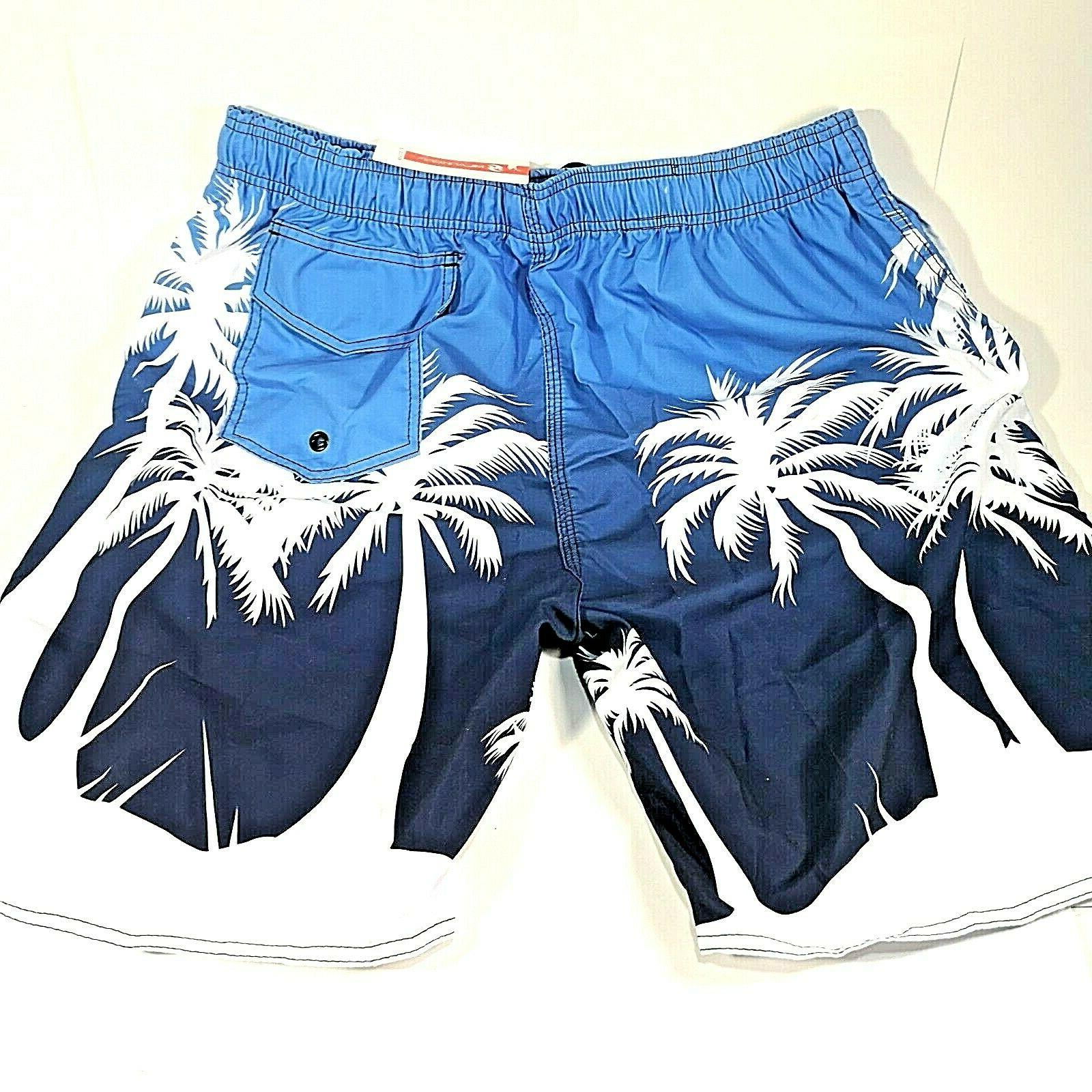 Milankerr Trunks Bathing Suits Board Palm Trees