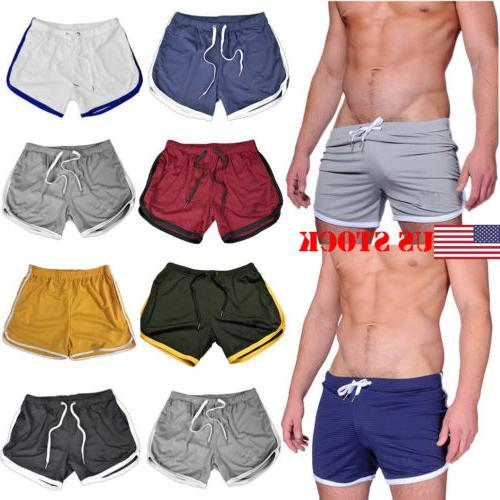 us fashion men casual shorts sports running