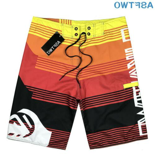 Mens Shorts Surf Sport Wear Pants Swimsuit 30-38