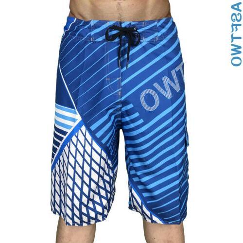 Mens Summer Shorts Surf Sport Wear Trunks 30-38