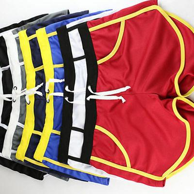 Men Summer Swimwear Swimming Boxer Briefs Pants