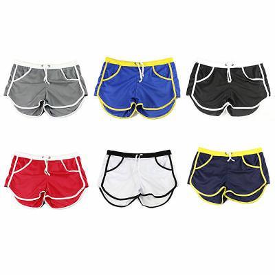 Men Summer Swim Swimwear Trunks Underwear Boxer Briefs