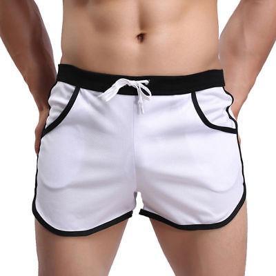 Men Swim Swimwear Boxer Pants