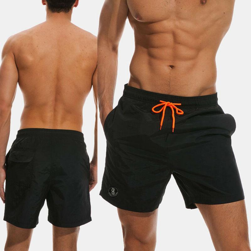 Men Swim Shorts Sport Trunks Running Surt Board pants Swimwear