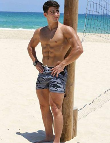 Men Swim Shorts Swimming Boxer