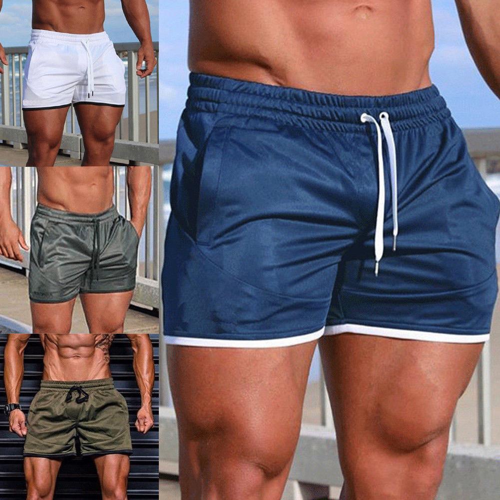 Men Swim Trunks Sports Running Short