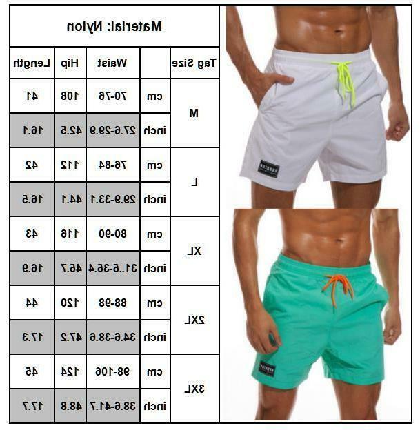 Mens Boys Board Shorts Swim Trunks Swimwear