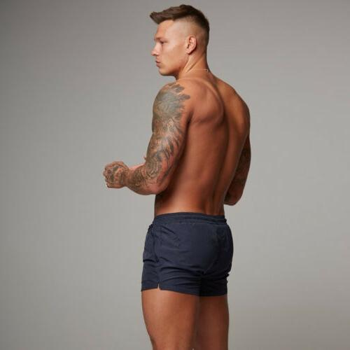 Mens Surf Beach Shorts Swim Sports Gym Running Trunks Pants US