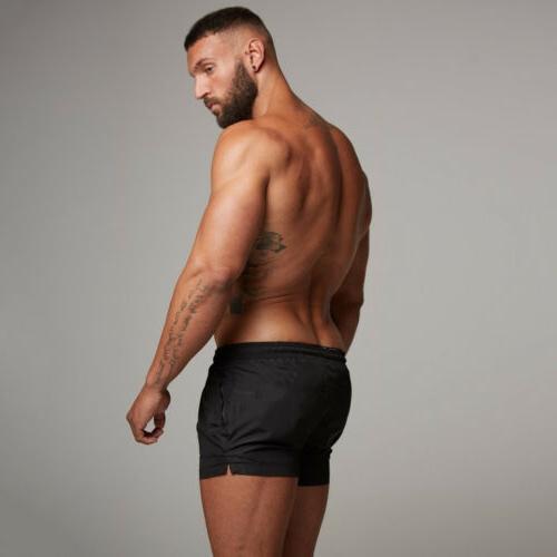 Mens Boardshorts Surf Shorts Sports Gym Running Trunks Pants US