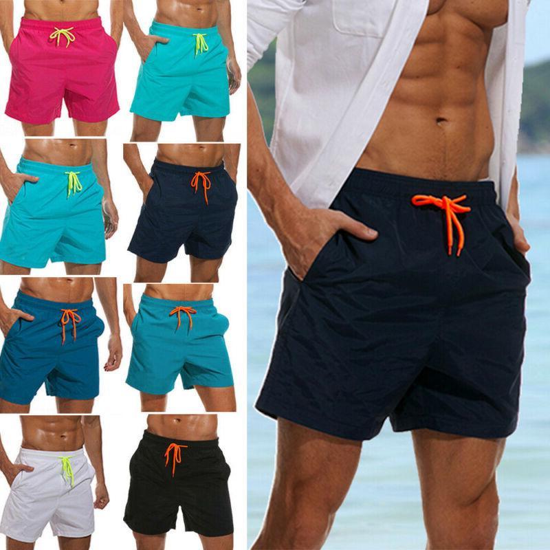 mens boys swimming board shorts swim shorts