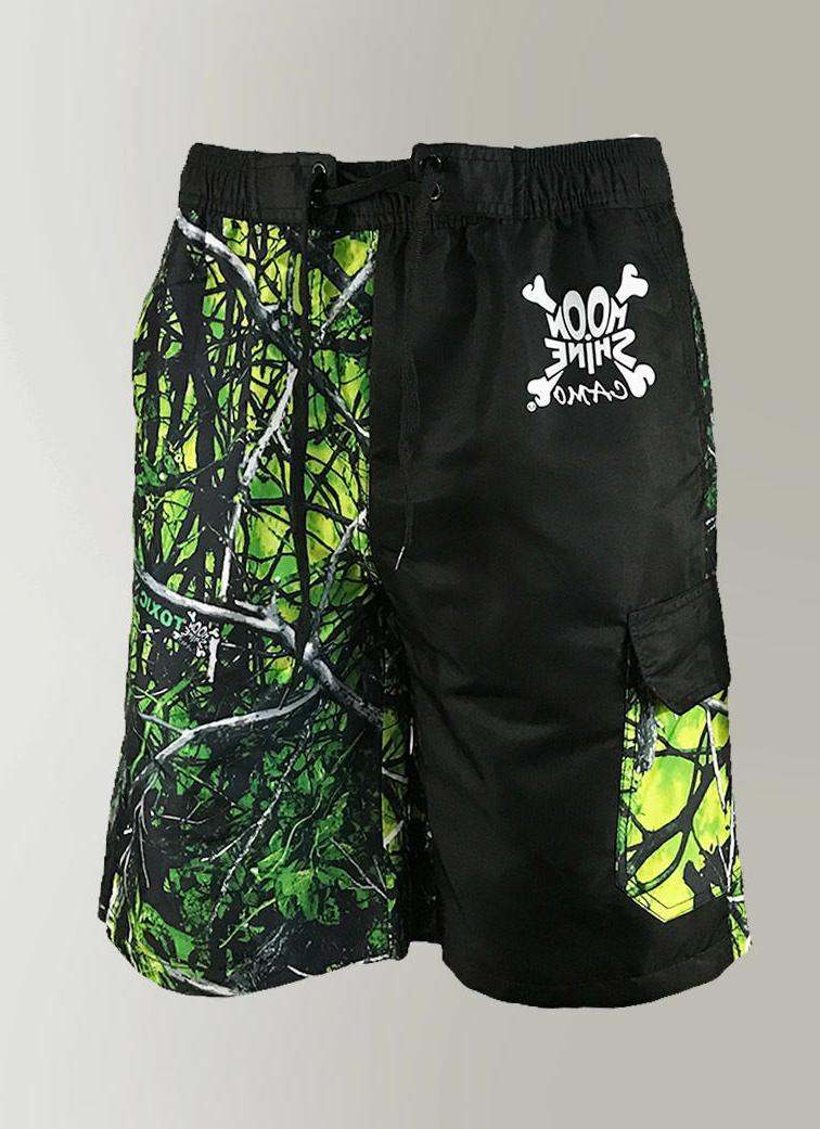 Mens / in Green Yellow Camouflage